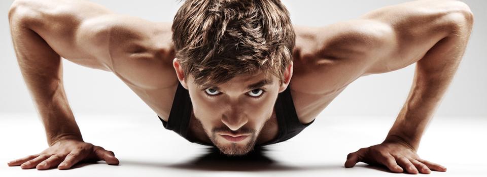 Spieren inzetten om af te vallen