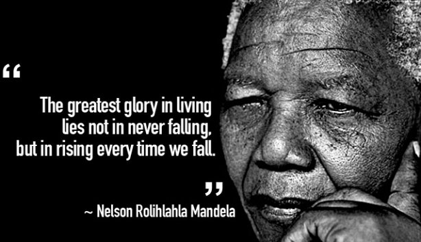 Nelson Mandela The greatest glory. Lees meer in het e-boek Wat Je Denkt Ben Je Zelf.