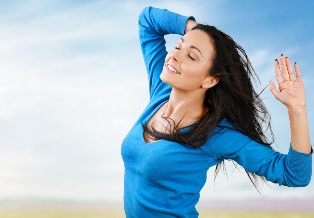Serotonine, goed gevoel. Meer weten? Lees het e-boek Van Stress Naar Geluk.