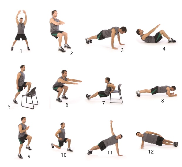 Fitness De 7 Minutes Workout Nlbewustgezond Nl