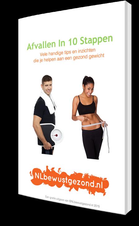 gratis e-boek Afvallen In 10 Stappen