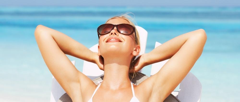 Lekker zonnen. Meer weten over gezond leven? Download het e-boek Gezond in 10 stappen.