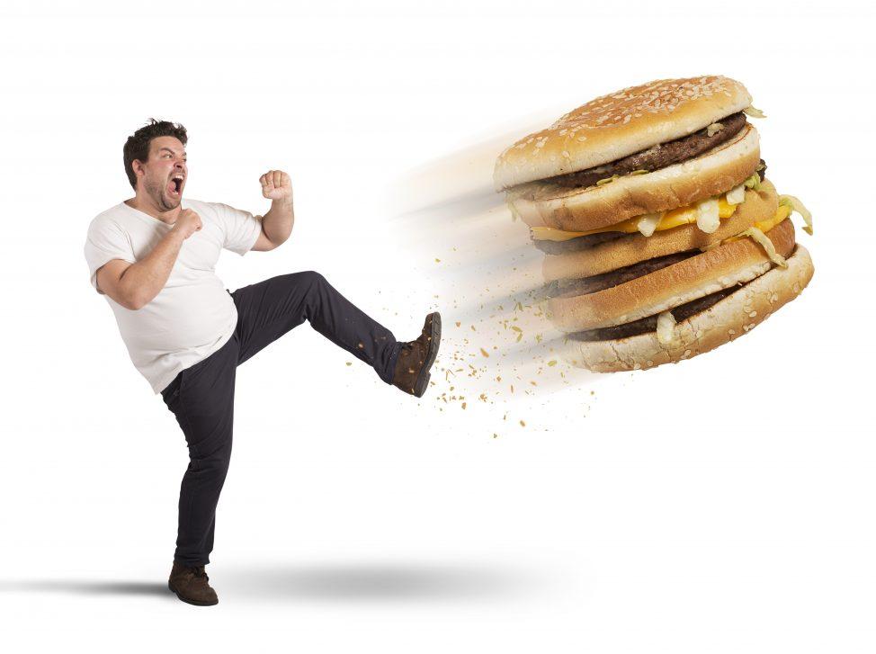 Gezond eten is geen junk food. Meer weten? Download het e-boek Gezond in 10 stappen