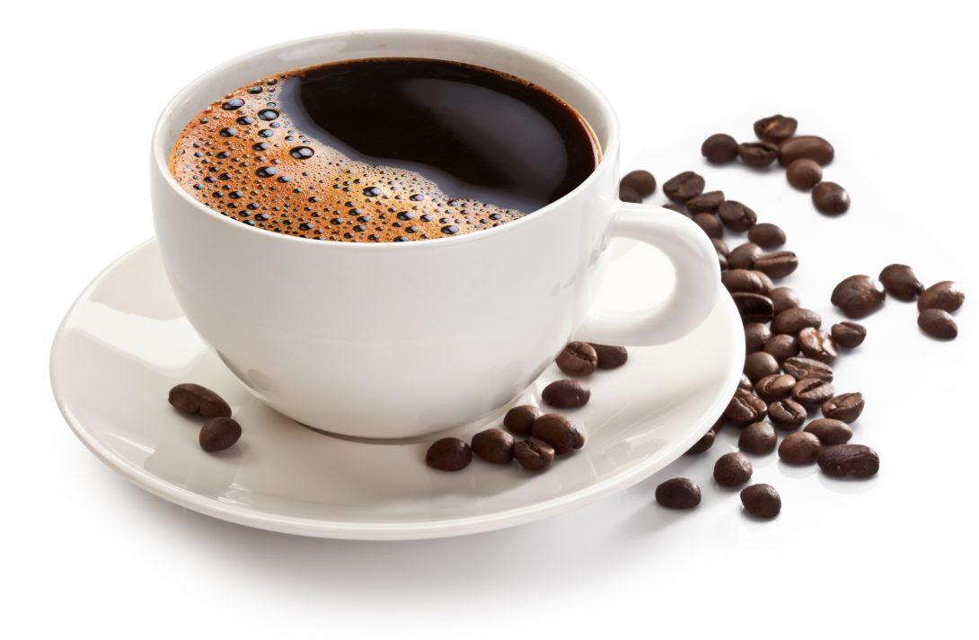 Zwarte koffie. Meer over gezond leven lees je in het e-boek Gezond in 10 stappen.