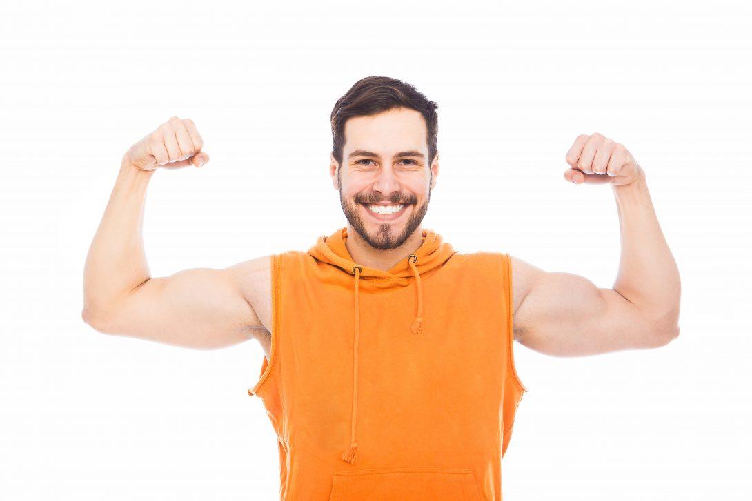 Testosteron en een gezond gewicht. Meer over gezond leven lees je in het e-boek Gezond In 10 Stappen
