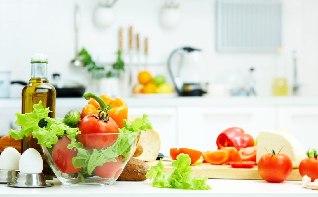 Gezonde maaltijd. Meer weten? Lees het e-boek Gezond In 10 Stappen eens.