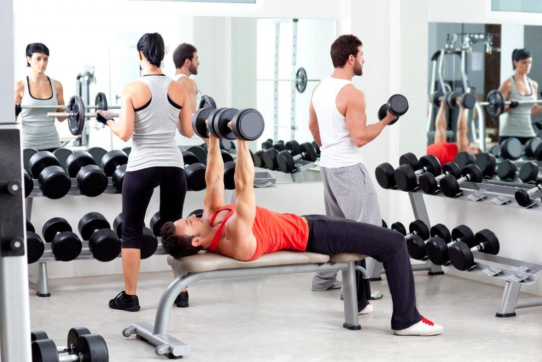 Pittige workouts in de sportschool?